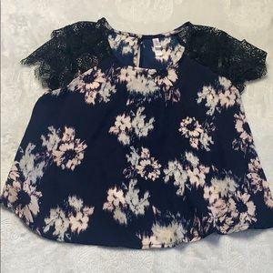 Casual, Dressy Blouse, Shirt, T-shirt Lace Playful